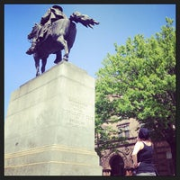 Photo taken at Grant Square by Nick B. on 5/18/2013