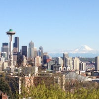 Photo taken at Kerry Park by Travelingjoe on 4/23/2013