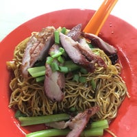 Photo taken at Pudu Market Wantan Mee (Night only) by hoo mee w. on 1/31/2017