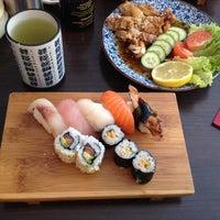 Photo taken at Sushi Sano by Tatiana T. on 6/15/2014