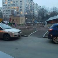 Photo taken at детская площадка Большевиков 11 by Vitaliy K. on 3/28/2015