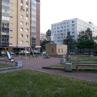 Photo taken at детская площадка Большевиков 11 by Vitaliy K. on 8/11/2014