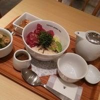Photo taken at nana's green tea 熊本パルコ店 by 蒼華 on 4/16/2014