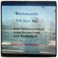 Photo taken at Bahnhof Nierstein by Tobias G. on 3/15/2013
