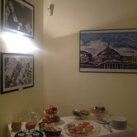 Photo taken at Palazzo Magnocavallo B&B by Elena S. on 1/5/2014