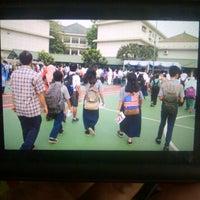 Photo taken at Sekolah Al-Azhar BSD by Galih P. on 3/8/2014