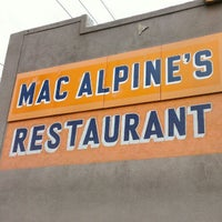 Photo taken at MacAlpine's Soda Fountain by Anthony R. on 3/3/2013