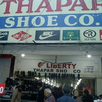 Photo taken at Thapar Shoes by Anant J. on 12/23/2012