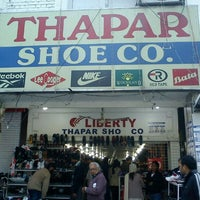 Photo taken at Thapar Shoes by Anant J. on 1/2/2013