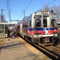 Photo taken at SEPTA Pennbrook Station by Jason C. on 12/31/2014