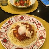 Photo taken at 京風スパゲッティー 先斗入ル 京都駅ビル店 by Masayukin G. on 9/3/2016