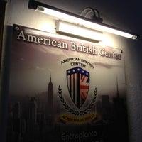 Photo taken at American British Center (Academia de idiomas) by Carlos C. on 5/15/2013
