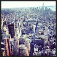 4/14/2013にIvar M.がEmpire State Building 86th Floor Observation Deckで撮った写真