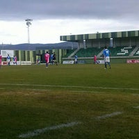 Photo taken at Estadio Municipal La Albuera by Javier L. on 11/24/2012