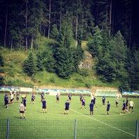 Photo taken at Campo Sportivo Ronzone by Laura @Blumenhotel B. on 7/26/2013