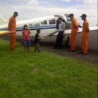 Photo taken at Sekolah Tinggi Penerbangan Indonesia (STPI) by Riri Saut Maruli on 5/18/2013