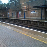 Photo taken at Feltham Railway Station (FEL) by Matt C. on 9/26/2012