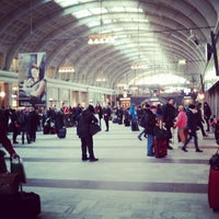 Photo taken at Stockholm Central Railway Station by Andreas H. on 2/24/2013