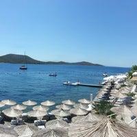 Photo taken at Doria Beach by alişan k. on 6/24/2013