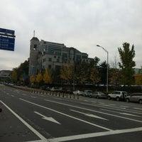 Photo taken at 여의도순복음분당교회 by Hyoun Don Y. on 11/4/2012