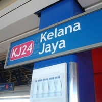 Photo taken at RapidKL Kelana Jaya (KJ24) LRT Station by Abdul H. on 3/17/2013