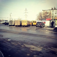 Photo taken at Конечная маршрутки 8А by Anastasiya A. on 2/19/2013