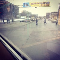 Photo taken at Конечная 77 и 14 маршруток by Anastasiya A. on 2/18/2013