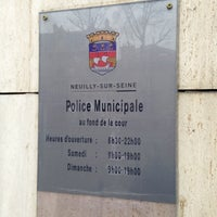 Photo taken at Police Municipale Neuilly by Fred G. on 4/13/2013