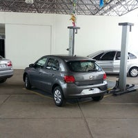 Photo taken at Pau Brasil - Concessionária Volkswagen by Cristhiano A. on 4/3/2013