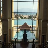 Photo taken at Sheraton Soma Bay Resort by Alexandra C. on 4/18/2015