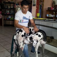 Photo taken at Veterinaria kaninos by Hugo O. on 11/6/2013