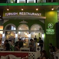 Photo taken at TROY TURKISH RESTAURANT by Gencebay S. on 7/1/2014