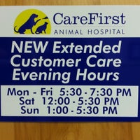 Photo taken at CareFirst Animal Hospital Grace Park by Kevin S. on 3/4/2013