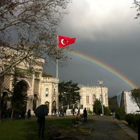 Photo taken at Istanbul University by Fahri B. on 11/23/2012