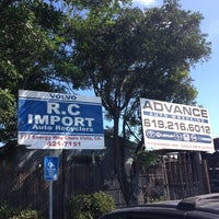 Photo taken at R.C Import Auto Recycling by Ardeshir T. on 10/9/2012