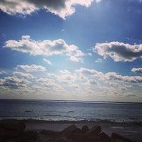 Photo taken at Lake Ladoga by Anastasia✂️ on 4/19/2013