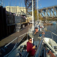 Photo taken at Canal Street Marina by Tracy H. on 10/21/2012