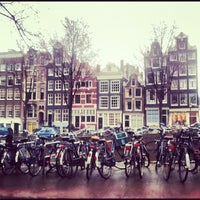Photo taken at Amsterdam Canals by Eva R. on 3/10/2013
