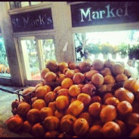 Photo taken at St. Mark's Market by Eva R. on 10/18/2012