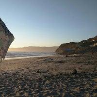 Photo taken at Playa  Saldamando by David D. on 8/16/2015