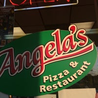 Photo taken at Angela's Pizza by Jill O. on 5/19/2016