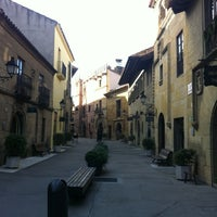 Photo taken at Poble Espanyol by Gözde A. on 2/8/2013