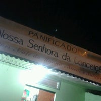 Photo taken at Panificadora N.S.da Conceição by Luana S. on 1/1/2013