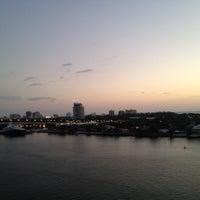 Photo taken at Port Everglades by Simon T. on 11/7/2012