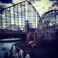 Photo taken at Blackpool Pleasure Beach by Alberto D. on 3/29/2013