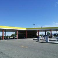 Photo taken at Area di Servizio San Pelagio Ovest by Denis T. on 5/17/2014