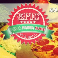 Photo taken at EPIC Pizza & Subs by Aakhmed on 6/23/2013