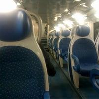 Photo taken at Stazione Mariano Comense by Flavio R. on 9/2/2013