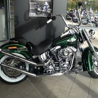Photo taken at Old Glory Harley-Davidson by Curtis F. on 10/20/2012