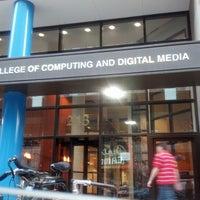 Photo taken at DePaul University - College of Computing and Digital Media by Jamie G. on 11/20/2012